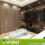 现代板式整体衣柜定制推拉移门组合 衣帽间全屋定制主卧室家具