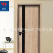 佛山工厂出口卧室门复合木门 出口单住宅室内模压免漆门