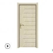 承接各种1020白鸡翅木装甲木门免漆强化生态木门卧室房门定制加工