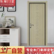 免漆门室内静音木门实木烤漆门宾馆特价房间门工厂批发室内门
