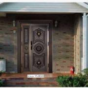 双开防盗门高档欧式室内 豪华别墅铜铝门 欧式别墅进户大门
