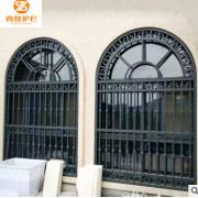 创意铝艺防盗防护窗定制 铝合金防盗防蚊窗花 铝防护窗厂家供应