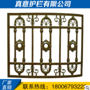 厂家供应铝艺门窗 规格可定制防护窗别墅双开铝合金门窗防盗窗