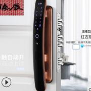 厂家直销臻辰智能指纹锁兰博之月防盗门智能门锁全自动电子密码