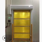 净化房快速卷门无接触进出10万级净化车间PVC材料防尘保温安全