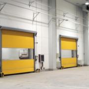 快速门 车库电动PVC感应卷帘门 食品纺织机械隔离门口罩车间