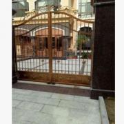 豪华铁艺别墅大门 庭院对开大门 电动推拉大门 可加工定制尺寸