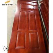 南京橡木门定做工厂 定制现代简约家用实木门 客厅卧室门 房门