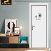 厂家生产现代实木复合门烤漆门 室内门套装原木门可定制量大优惠