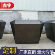 厂家定制 不锈钢花箱 户外景观金属烤漆花箱 异形移动不锈钢树池