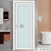 五月花平开门双层玻璃门钛镁合金门浴室厨房门厕所门厂家直销