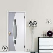 厂家直销室内烤漆木门 实木复合门 生态免漆门 工程木门
