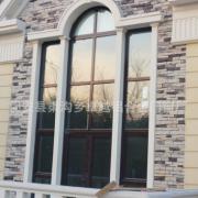 厂家直销断桥铝门窗 异性圆弧窗户 平开窗封阳台铝合金 加工定制
