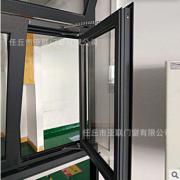 厂家生产 大角度开启弯链式电动上悬天窗 铝合金电动天窗价格