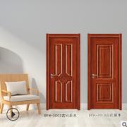 房间门定制 手动平开卧室门整套 深拉伸模压门厂家生产