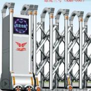 厂家定制智能遥控伸缩门 精抛不锈钢电动伸缩门 红外线防碰装置
