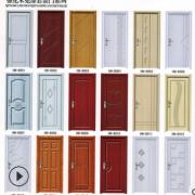 室内免漆套装门 实木复合PVC房间门 工程门房间平开门定做