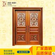 2017新款生产供应精致花园铜门 纯手工家用铜门 量大从优
