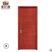 爆款复合实木门 简单款房间实木门 定做室内木门