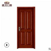 实木室内门 橡木烤漆房间门 隔音防水实木门