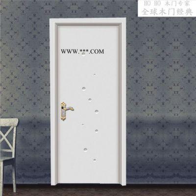 弘阔整木定制 干漆木门 室内门 复合烤漆门烤漆门强化门 钢木门