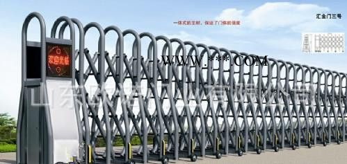 欧诺伸缩门 电动伸缩门 不锈钢伸缩门 遥控伸缩门