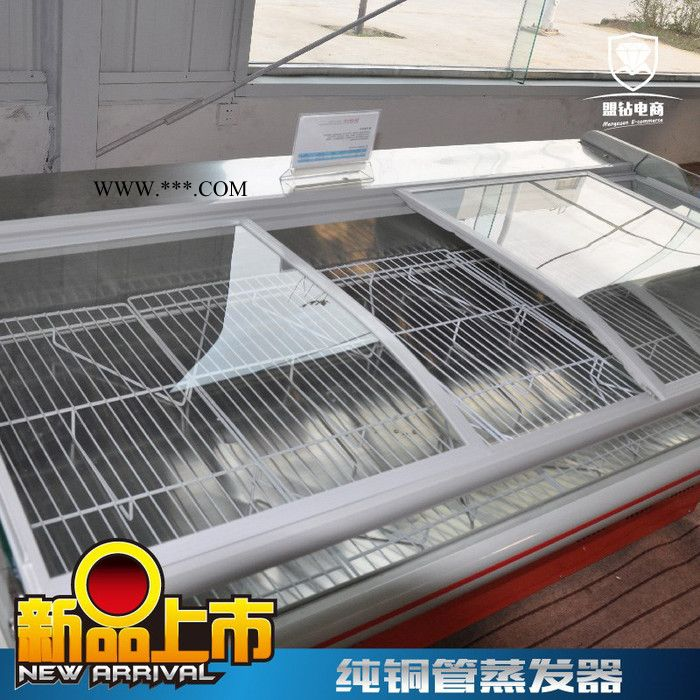鲜肉柜铜管保鲜柜玻璃门冷鲜肉柜鲜肉冷藏柜鲜肉展示柜直冷盟钻M-XR1500D/2000D/2500D