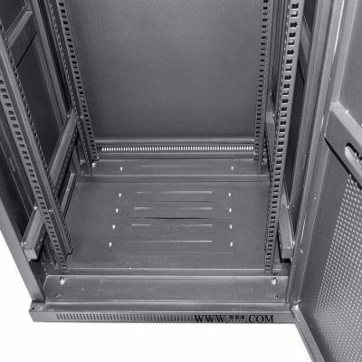 Gowone 购旺 42U服务器机柜 19英寸标准网络机柜 2米加厚型宽深600 前玻璃门 后铁门 G6642