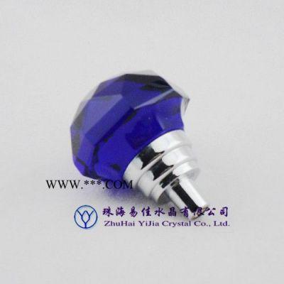 专业生产 锌合金镀铬玻璃门拉手 001-45H-XDL 古典水晶拉手