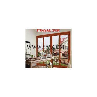 【鸿泰】生产铝合金推拉门 客厅厨房玻璃移门 简约玻璃门