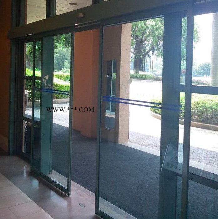 玻璃门 冷雨LEY2012玻璃自动门厂家 专业安装维修松下Panasonic电动感应玻璃门电机 平移自动玻璃门感应器批发