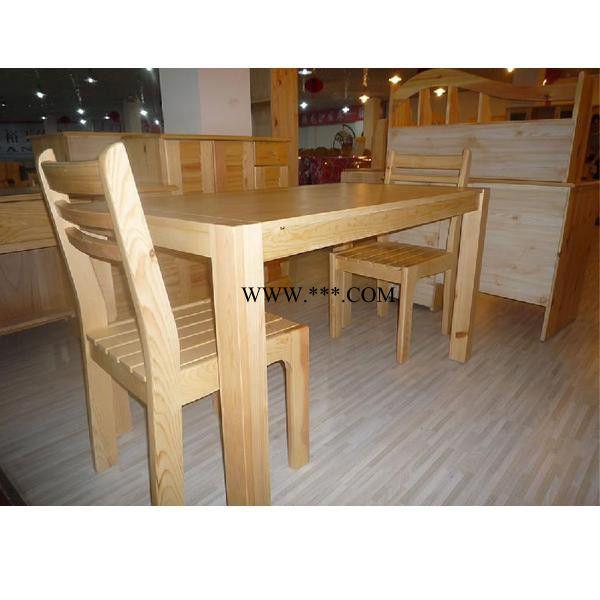 松木家具厂家  餐桌