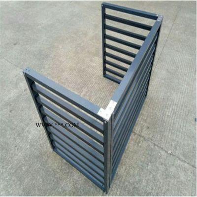 众盛定制铝合金空调外机罩折叠试百叶防雨空调罩冲孔雕花铝板空调外罩